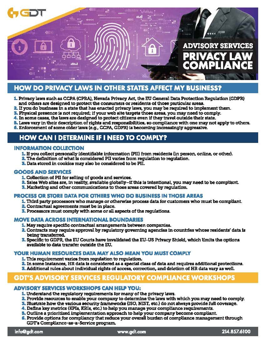 NEW Advisory Services_Privacy Law